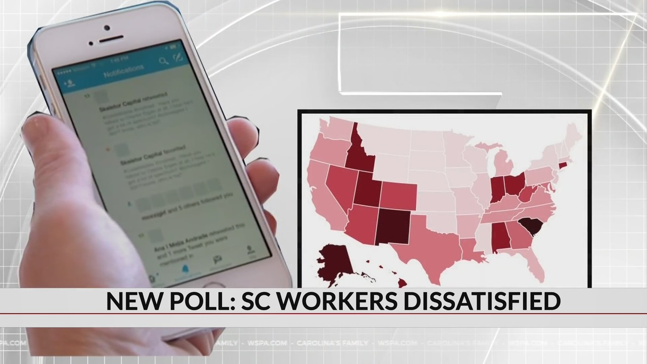 """SC has highest rate of tweeters who """"hate"""" their job according to new research"""