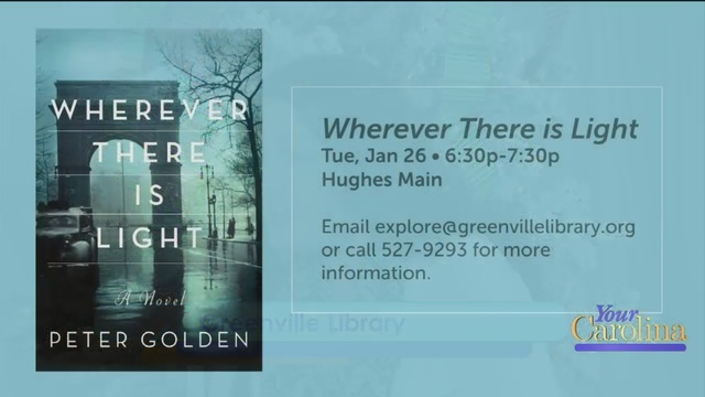 Peter Golden Visits The Greenville Library