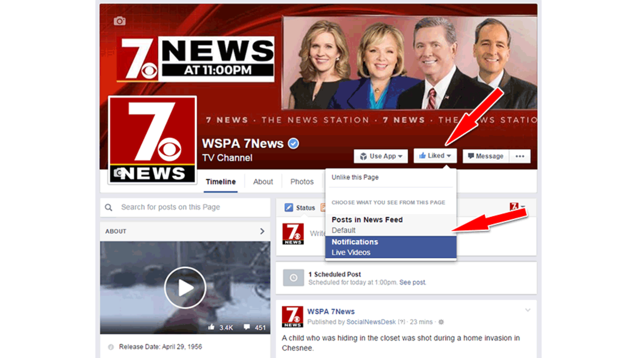 Never Miss Another Facebook Post From 7News