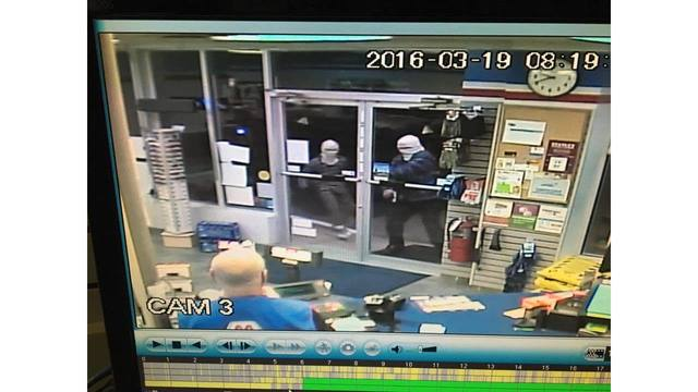 Would-be robbers locked out of store. Again.