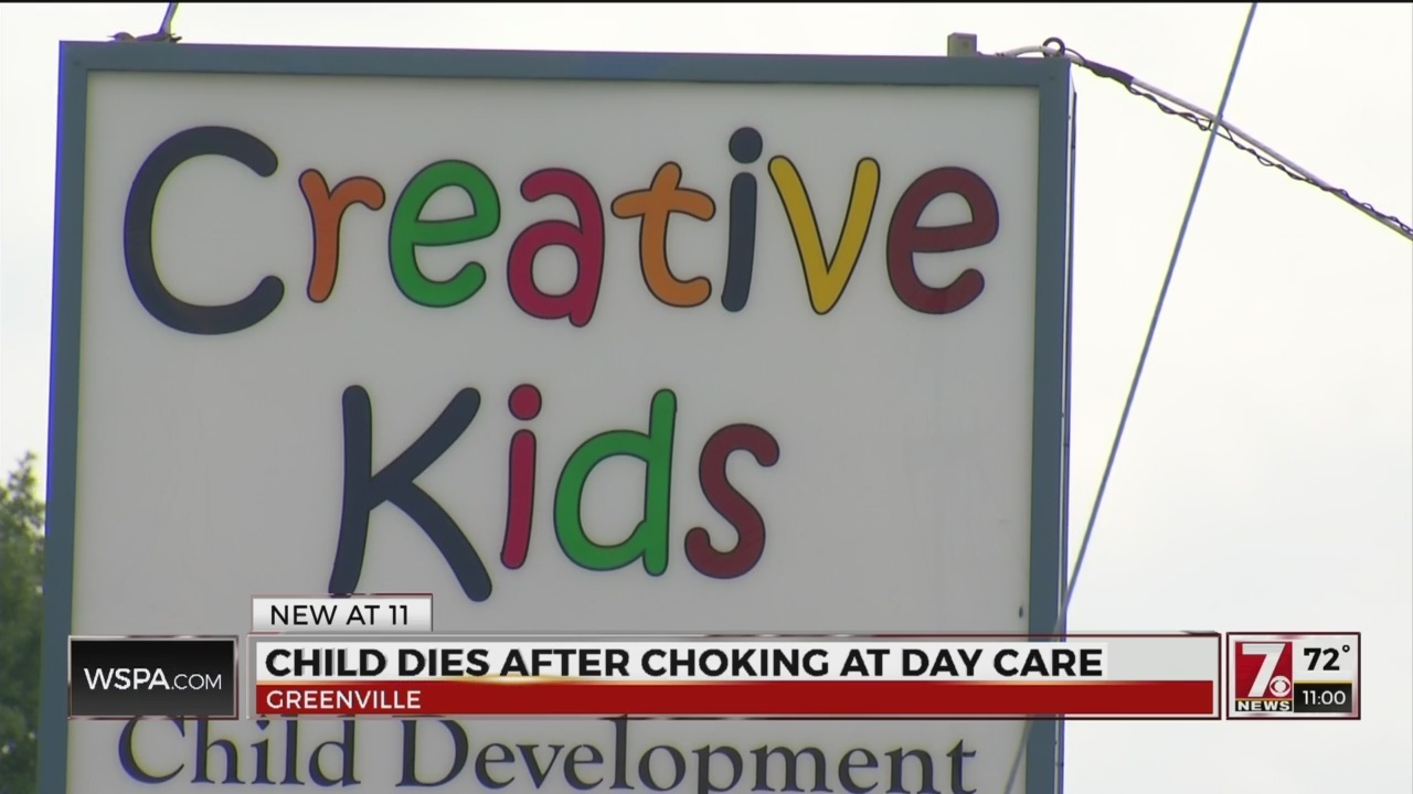 Baby Dies At Daycare After Choking On Lunch In Greenville Co