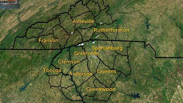 Interactive Radar for Greenville, Spartanburg, Anderson, Gaffney