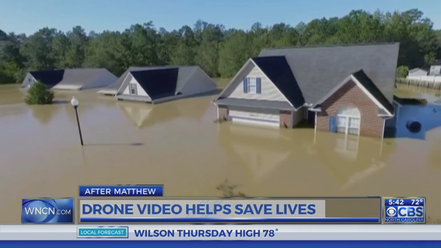 Drone, Twitter combine to rescue NC flood victim