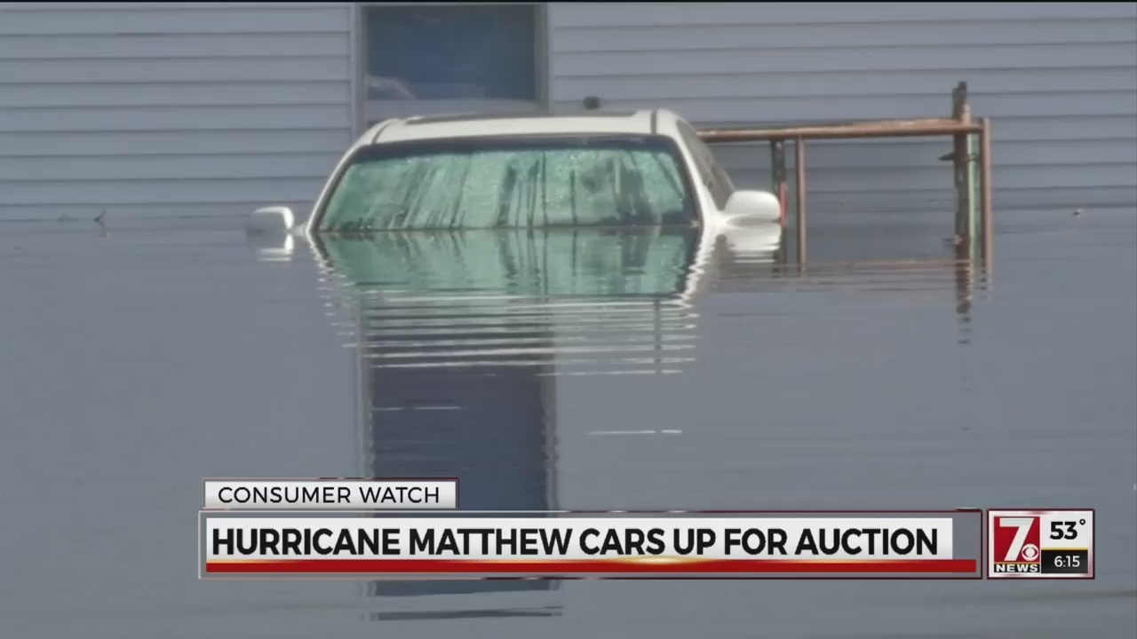 5000+ Cars flooded by Hurricane Matthew now up for auction - WSPA