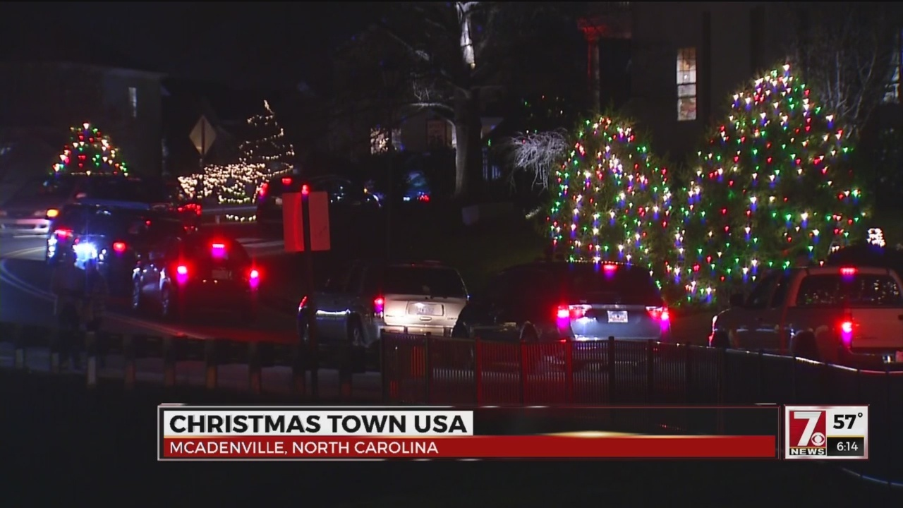 visit christmas town usa in the carolinas