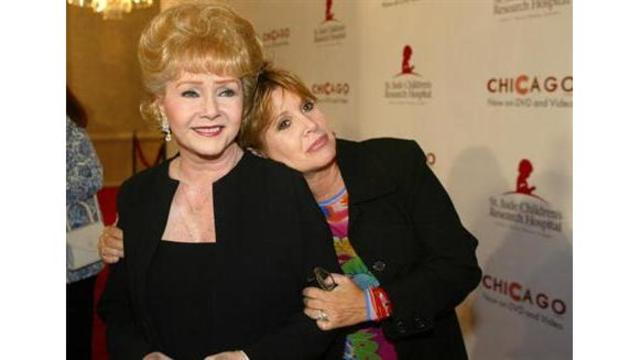 Carrie Fisher's mom Debbie Reynolds has died, reports say