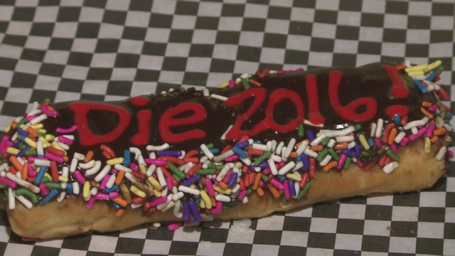 Bakery brings in the new year with 'Die 2016' donuts