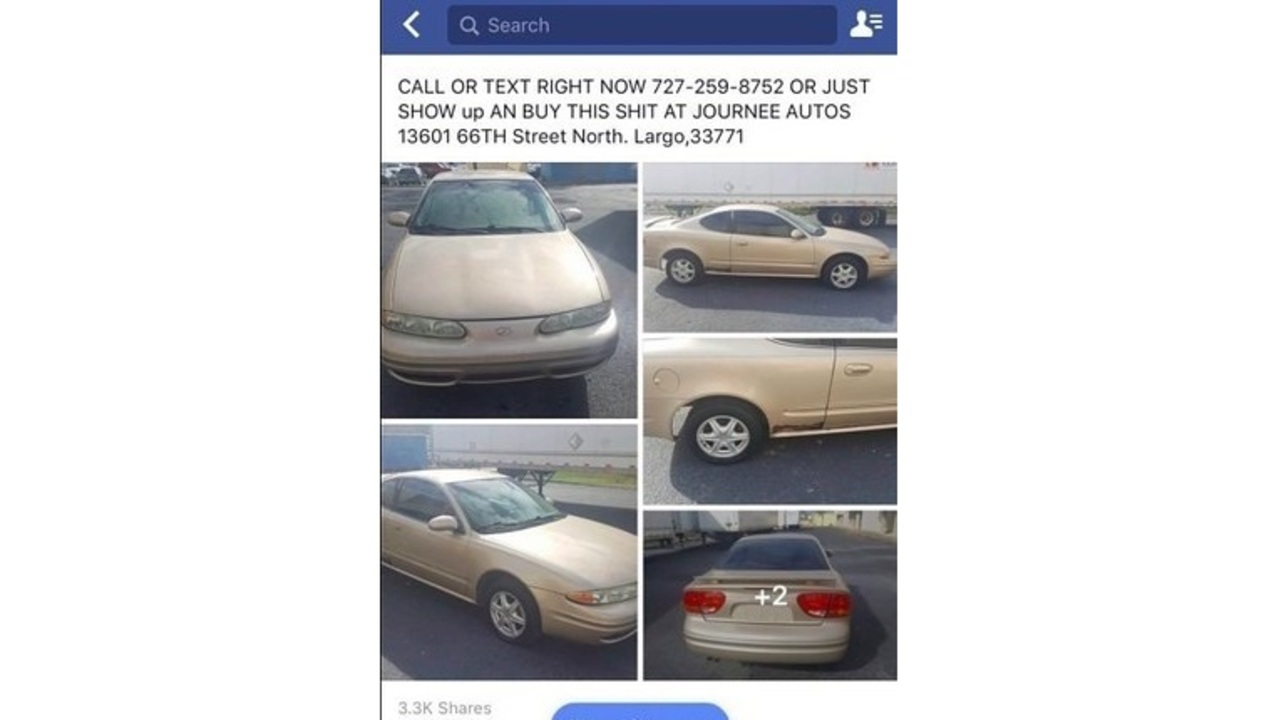 Brutally honest ad for used car goes viral - WSPA