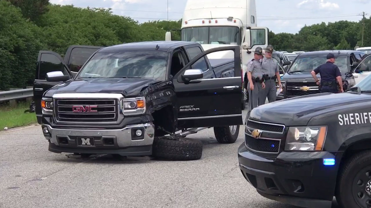 Deputies, suspect crash after chase on Hwy 9 in Boiling Springs