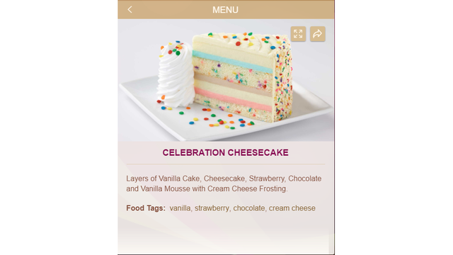 New flavor 50 off at Cheesecake Factory for National Cheesecake