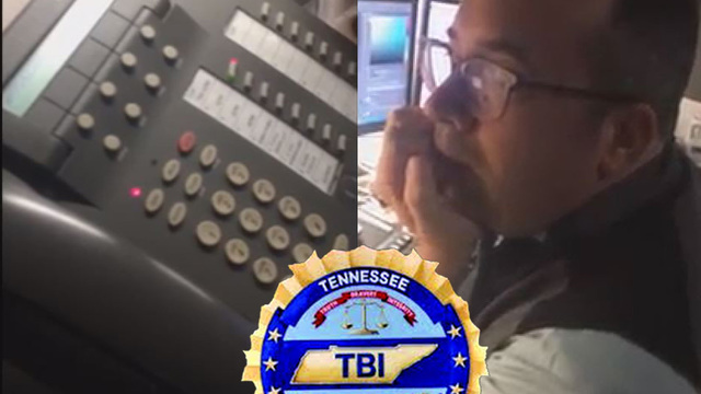 VIDEO: An IRS scammer, calls the TN Bureau of Investigation