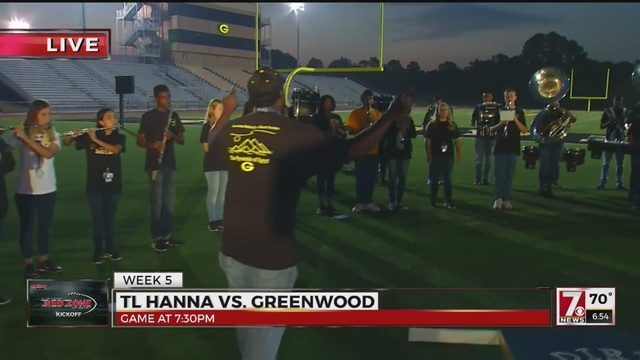 greenwood high featured in week 5 of hs red zone kickoff