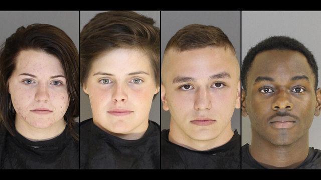 Sc Church Vandalized With Satanic Messages Symbols 4 Arrested Wspa