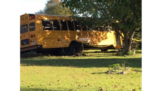 NC teen charged in school bus crash that hurt 14, officials say