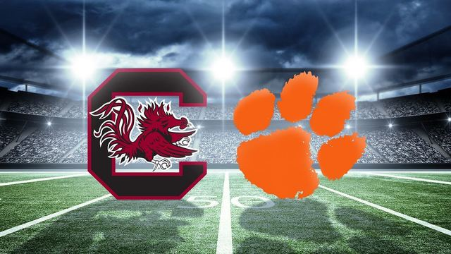 Clemson vs. USC play at 7:30pm on ESPN