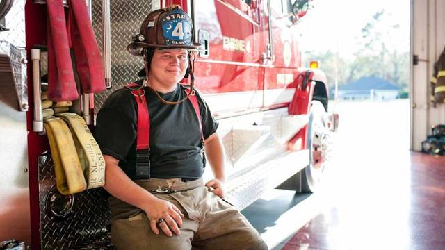 Family shares thanks for firefighter's progress after crash