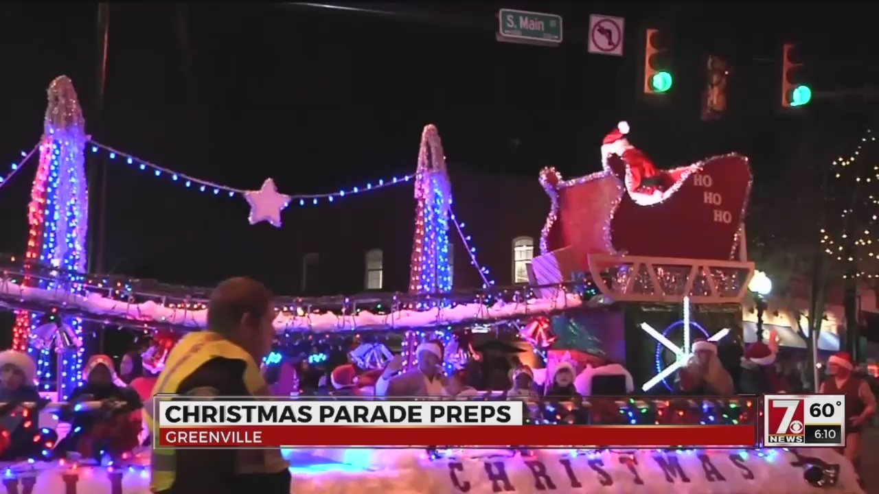 greenville prepares for annual christmas parade - Greenville Sc Christmas Parade
