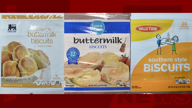 Frozen biscuits recalled for possible listeria contamination