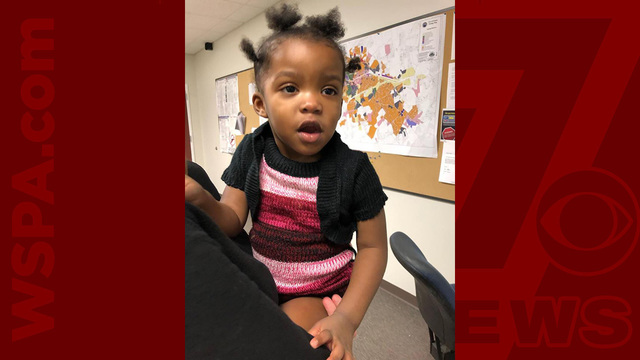 Mom of toddler found wandering streets in Easley located
