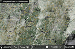 Satellite Radar Images For US Southeast SC NC And GA 7News - Satellite Map Of Southeast Us