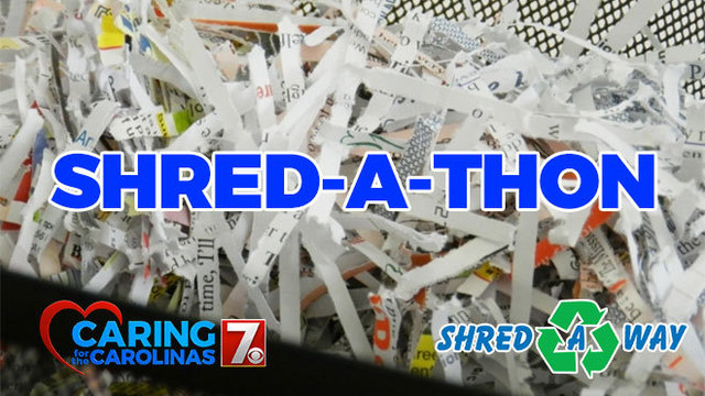 Shred-A-Thon Spring 2018 schedule