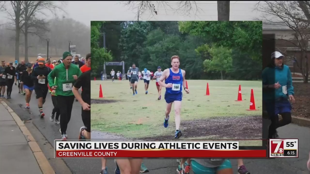 Cpr Training Saves Greenville Runners Life