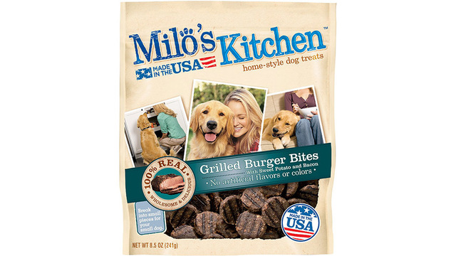 Milo's Kitchen Brand Dog Treats Recalled