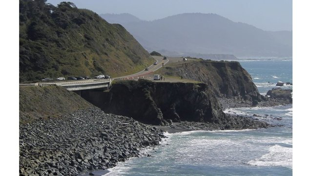 5 killed as vehicle plunges off California's coastal highway