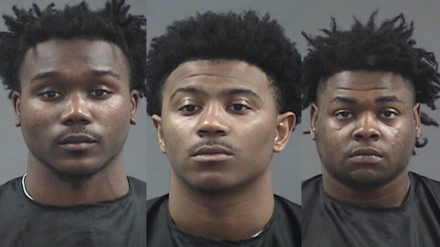 Three ex-players arrested on robbery charges