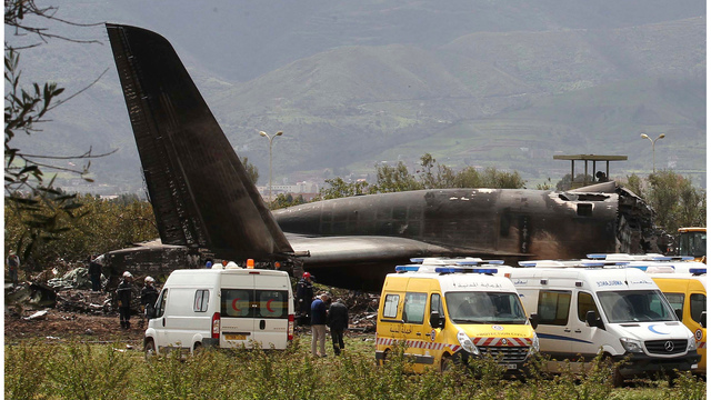 Algerian Military Transport Plane Crash Reportedly Kills 257 People