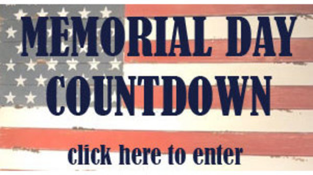 Memorial Day Countdown Contest