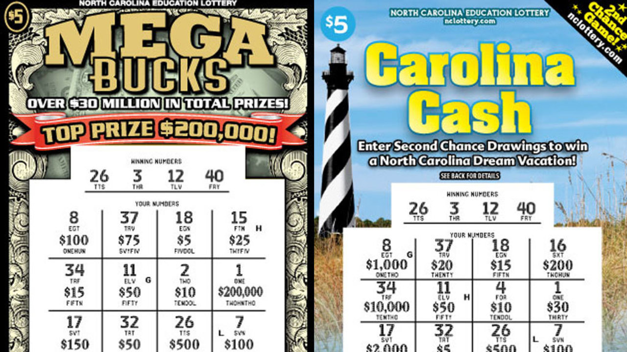 Scammers altering NC scratch-off lottery tickets