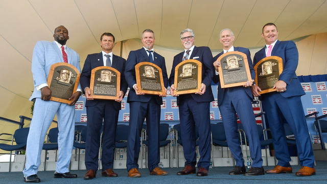 Braves great Chipper Jones among 6 inducted into Hall of Fame