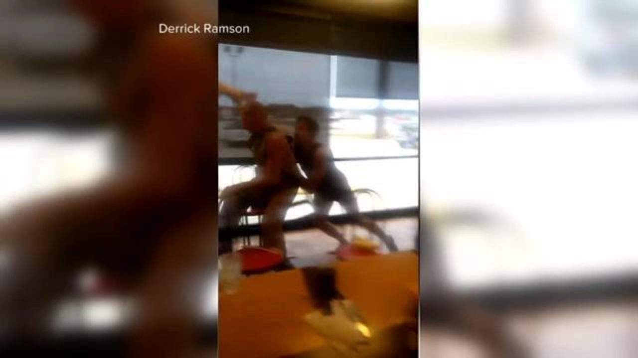 Image result for Man Falls Through Waffle House Roof