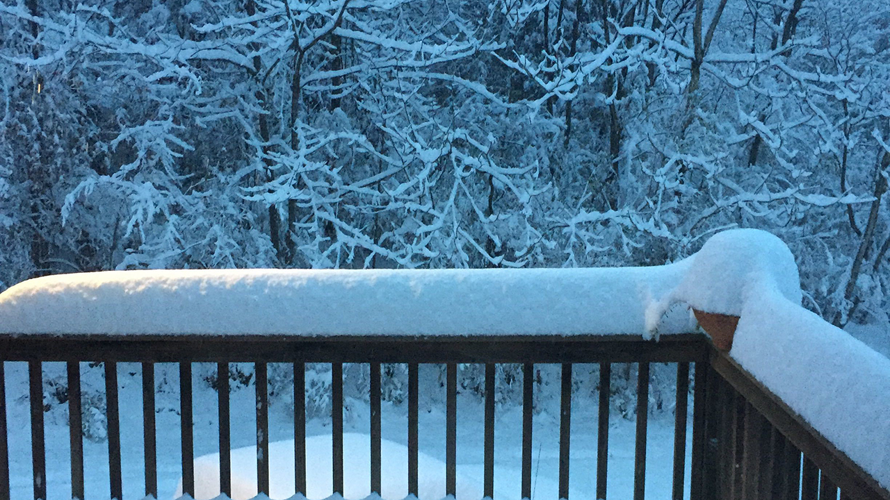 Snow totals from around the Upstate and WNC