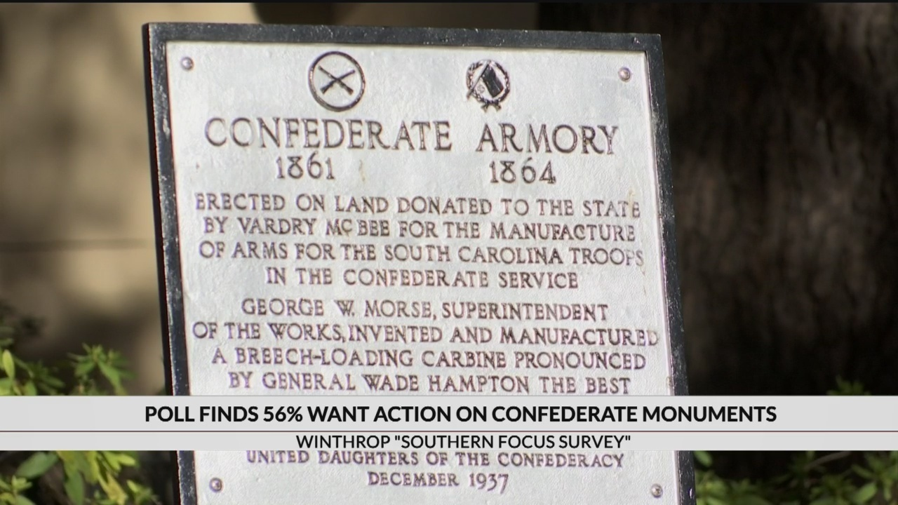 New survey finds majority of southerners want action on Confederate monuments