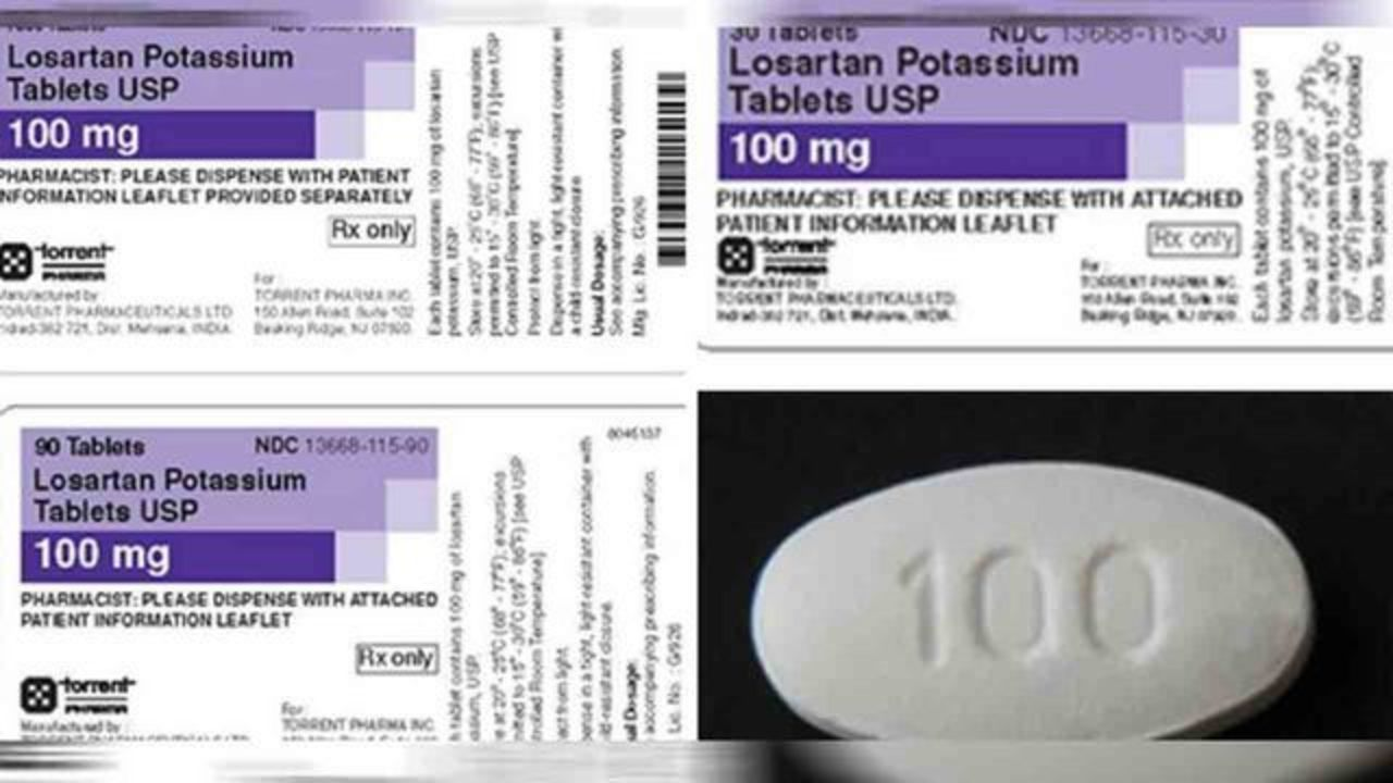 More blood pressure medication recalled after cancer-causing chemical found