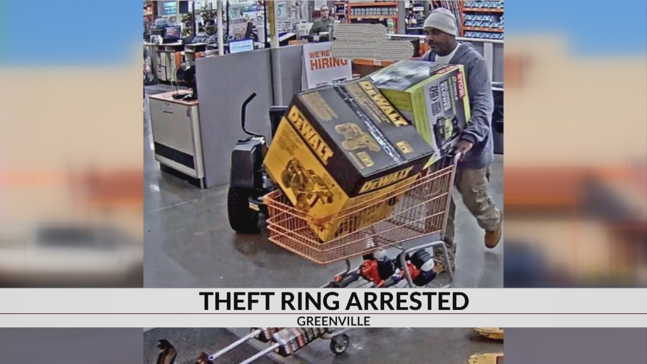 Police arrest six in investigation in to organized theft ring