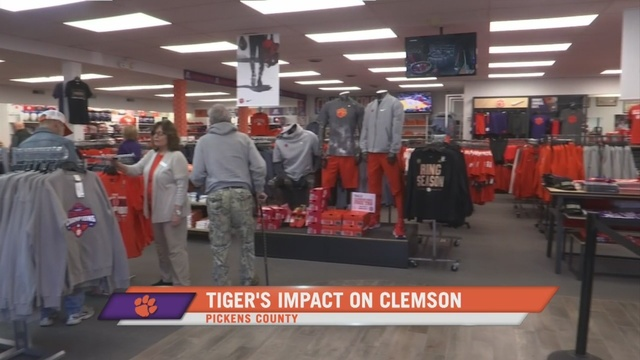 39675d4629a38 City positively impacted by success of Clemson athletic program