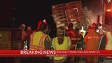 1 dead, 2 hurt after crash on Hwy. 24 bridge in Anderson Co.