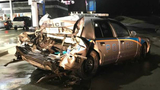 Seneca officer receives stitches after suspected drunk driver crashes into patrol car