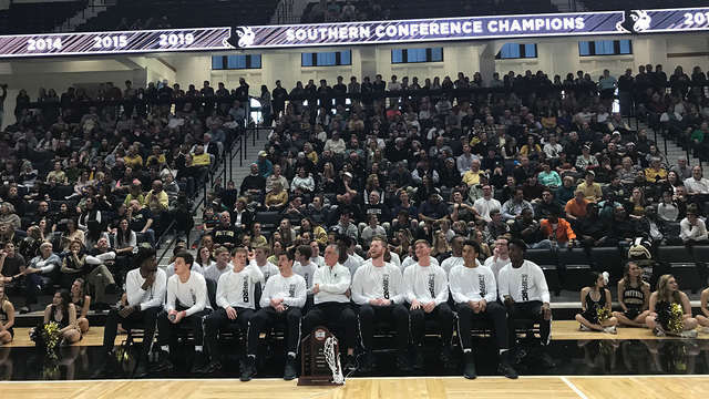 Wofford seeded 7th in NCAA Tourney, to play Seton Hall in 1st rd.