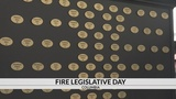 Firefighters from across the state head to the Capital City to talk legislation