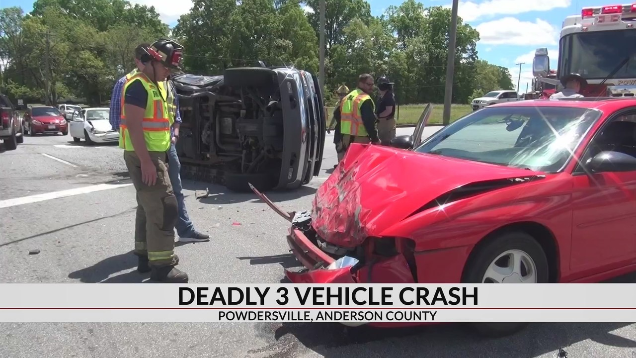 1 dead after crash on Hwy  81 in Anderson Co , troopers say