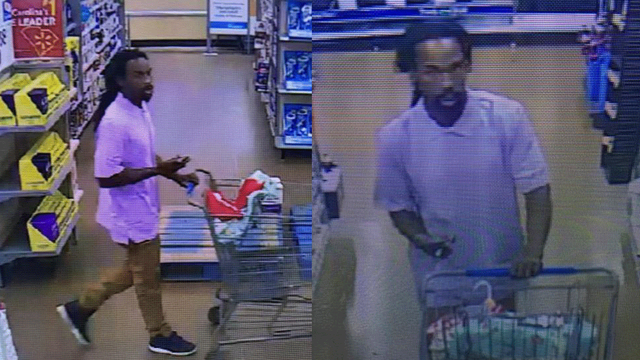 Help police ID man accused of setting fires to cover shoplifting at