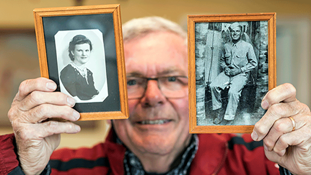 DNA test uncovers D-Day love story 75 years later